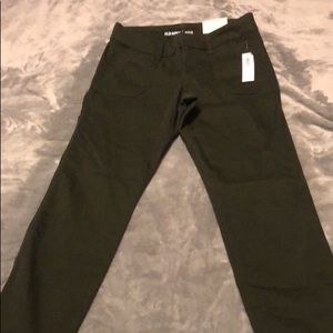 Brand new Olive green pixie cut pants